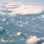 Bild på jorden från rymden